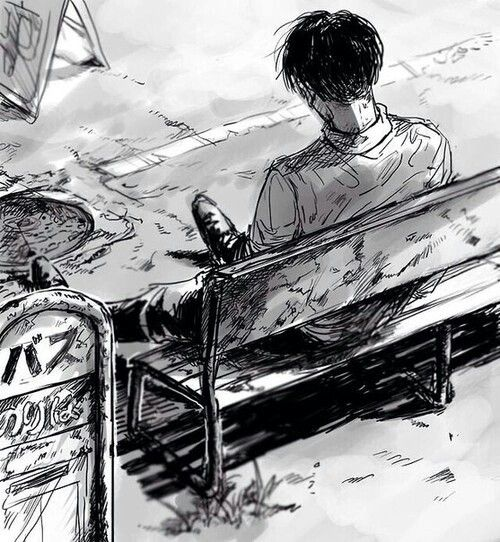 Worn Out!Levi || Feels bit lonely and down