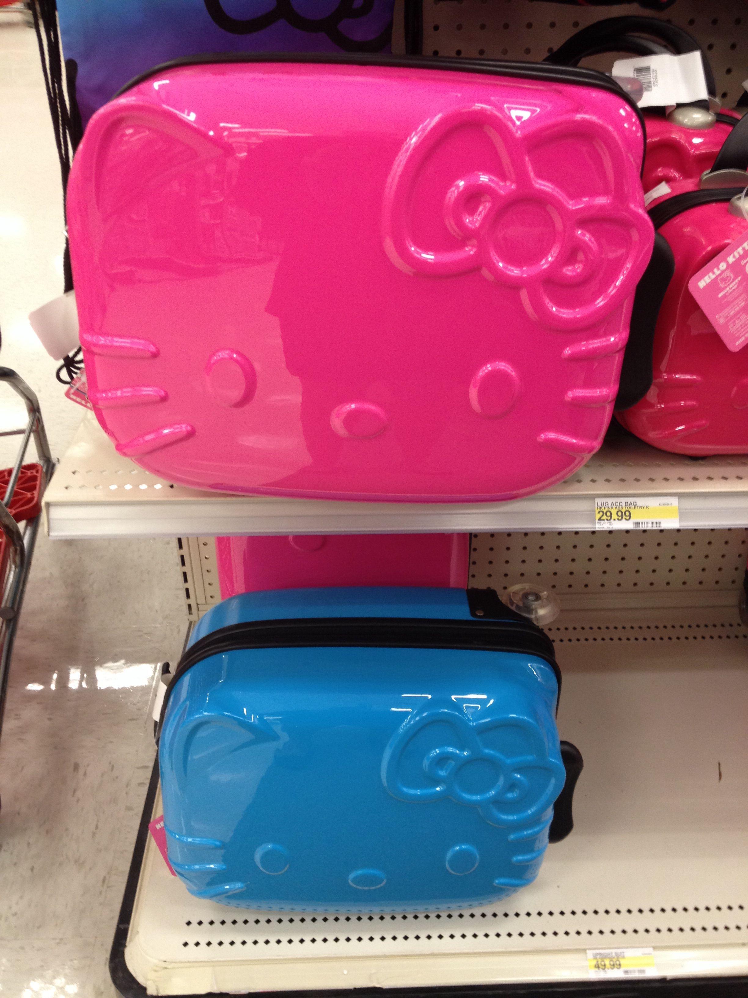 837e517c8 Hello Kitty Luggage @ Target | Hello Kitty | Hello kitty accessories ...