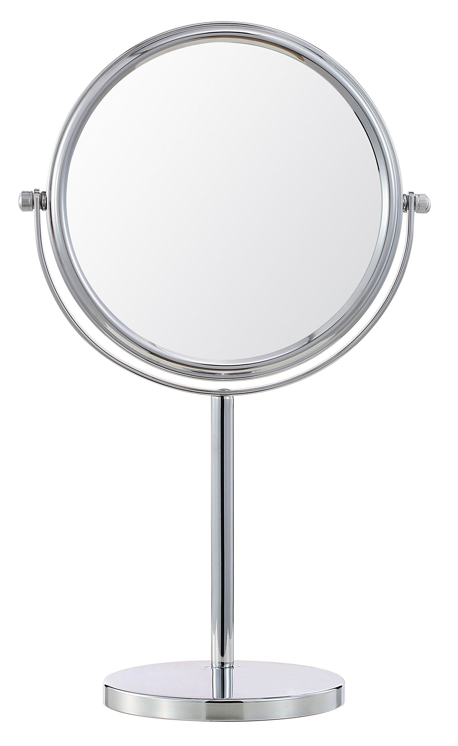 Etonnant Cerdeco 8 Inch TwoSided Makeup Mirror With 5x Magnification Vanity Mirror  Tabletop Mirror Chrome Finished *
