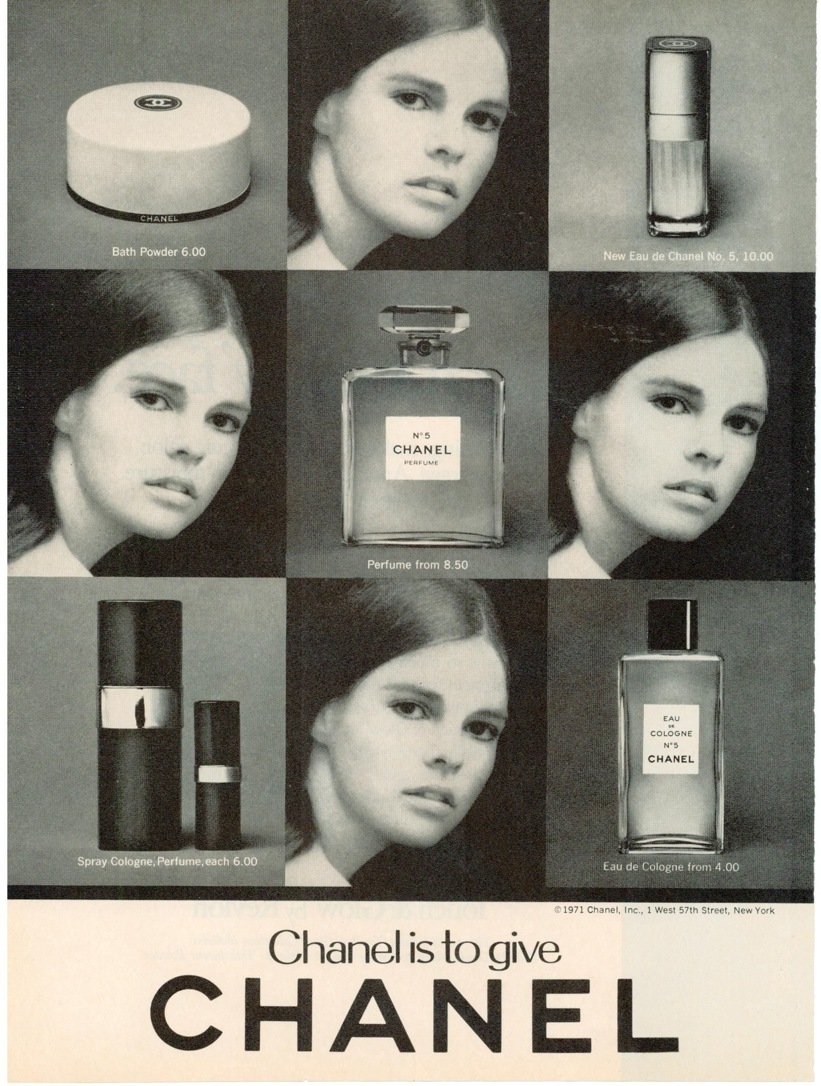 Ali macgraw for chanel no 5 ad 1971 finnfemme blog