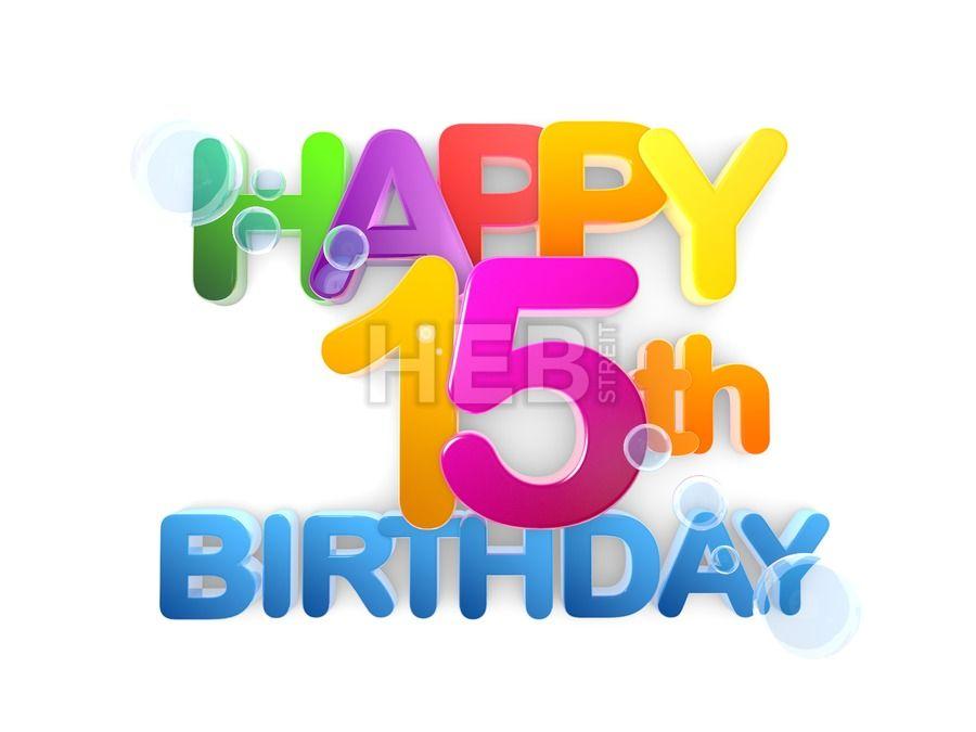 Happy 15th Birthday Title Light Streit