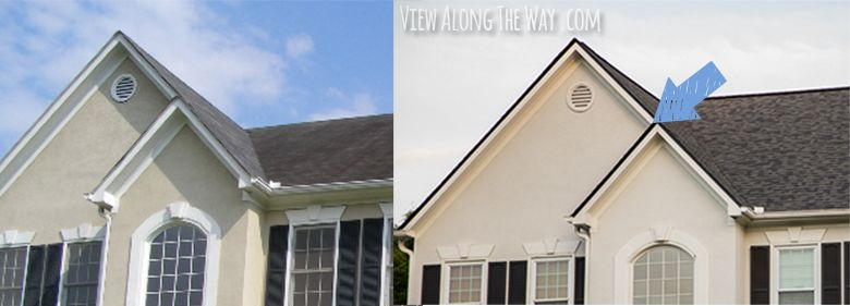 Raise The Roof Look Into Drip Edge On Roof Forever