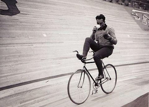 The Tea Revolution Sipping Biking Look No Hands Mom