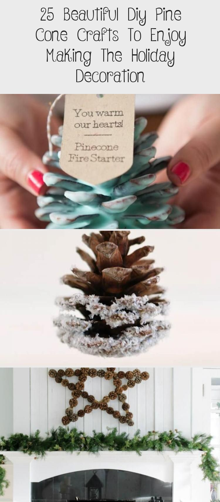 25 Beautiful Diy Pine Cone Crafts To Enjoy Making The Holiday Decoration Pine Cone Crafts Cones Crafts Crafts