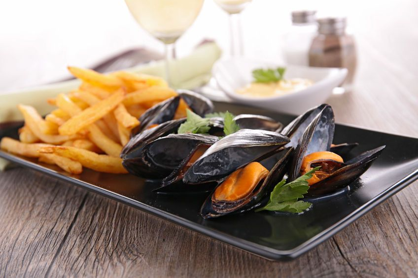 Steamed Mussels, Mussels, A Food