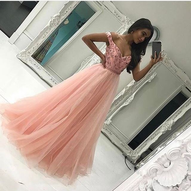 #lightpink #promdress #cute #adorable #lovethisdress