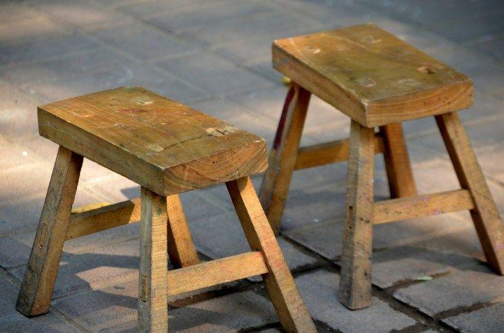 Holzarbeiten - Allgegenwärtig auf dem Selbstversorgerhof