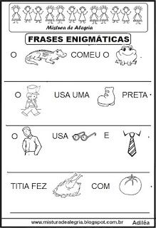 Alfabetização Education Apraxia Education Speech Therapy