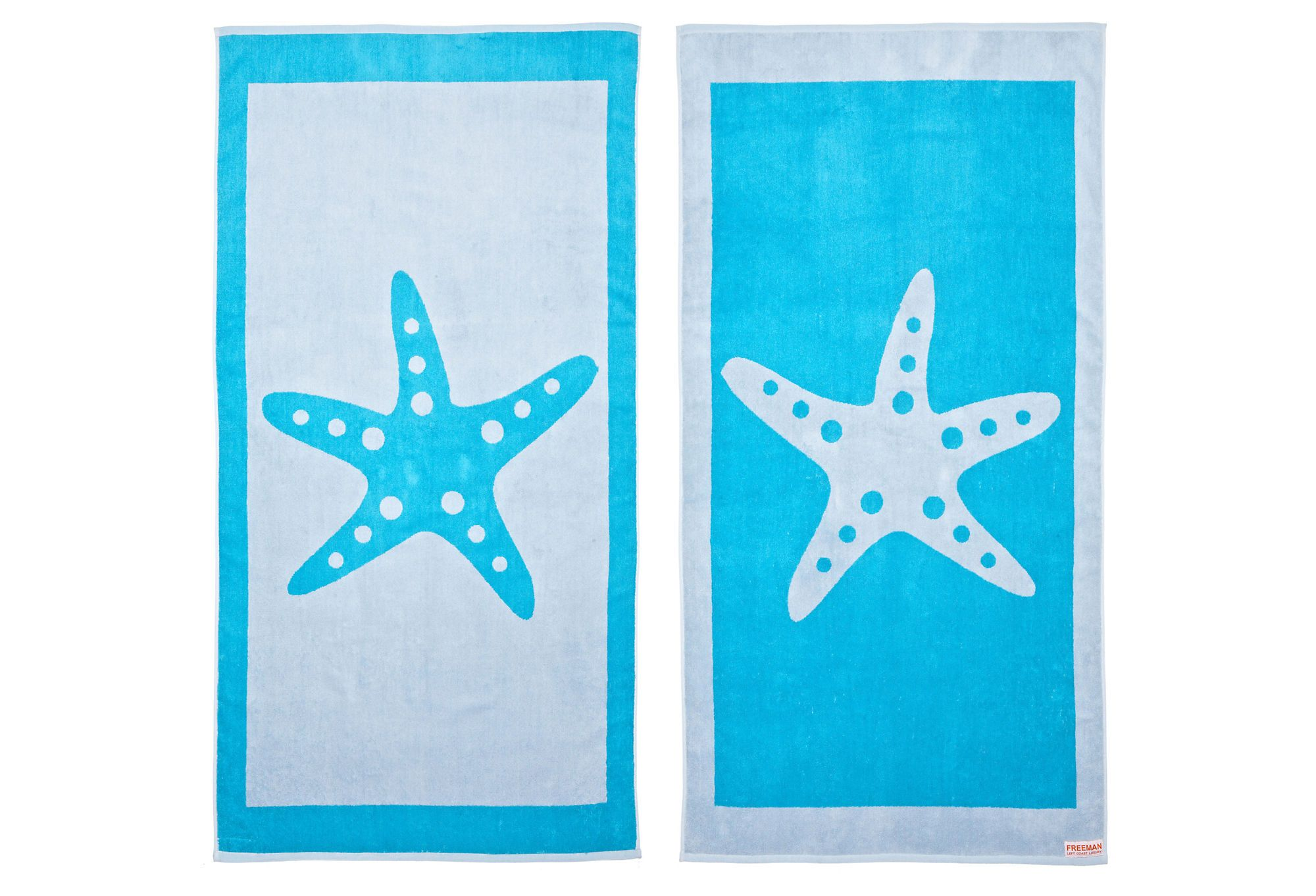 Starfish Beach Towel Turquoise Gray On One Kings Lane Today I
