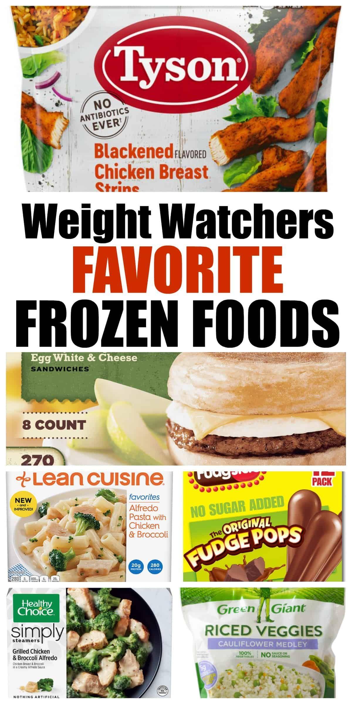 Weight Watchers Frozen Foods Favorites • Simple Nourished Living