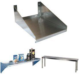 24 W X L Wall Mounted Microwave Shelf By Aero Manufacturing Co 214 95