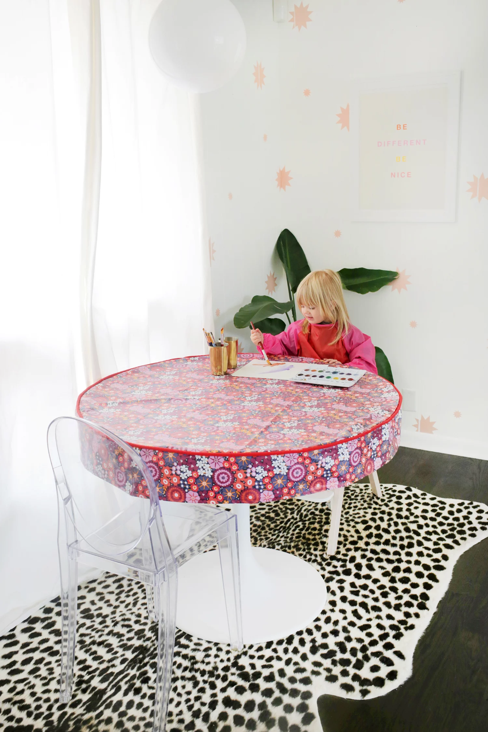 Waterproof Table Cover DIY (For Arts + Craft Time | Table ...