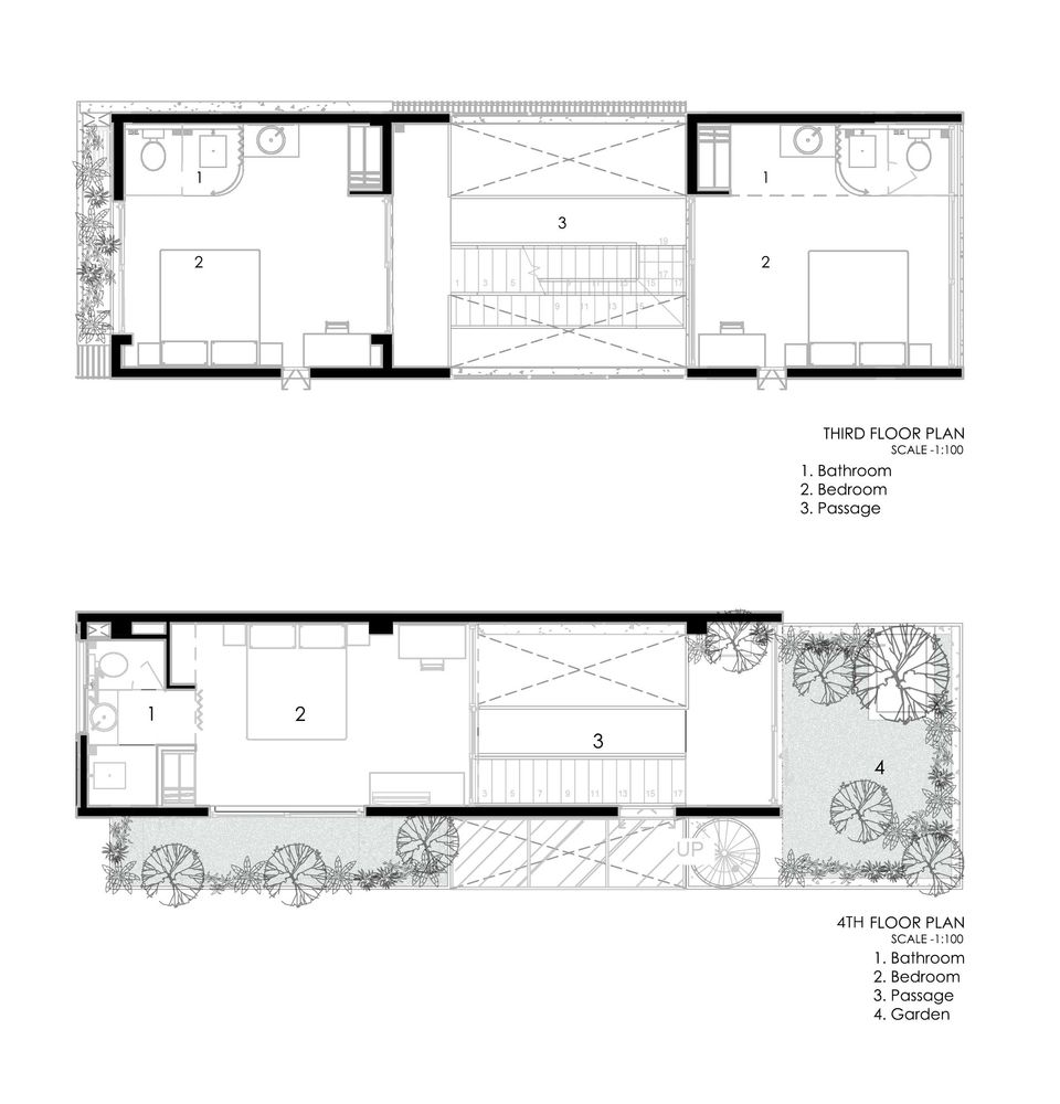 Gallery Of The Concrete House 01 Ho Khue Architects 40 Concrete House House Floor Plans Architect