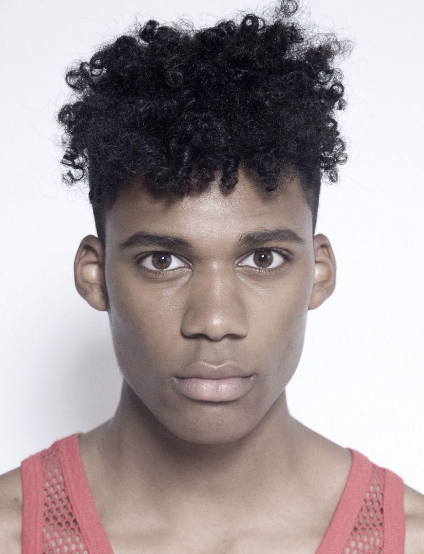Black mens haircuts ian comvalius  hair  pinterest  black hair hair style and