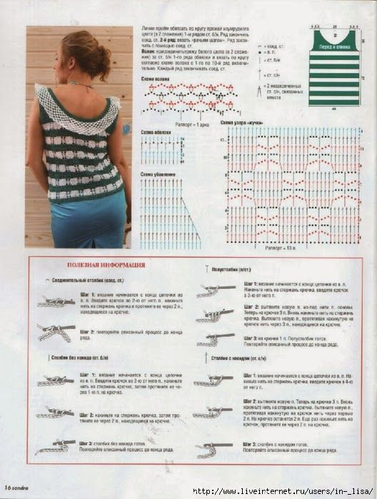 Maravilhas do Crochê: Pontos e Roupas com ponto Zig Zag | 36 crochet ...