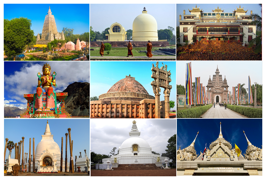 10 Most Famous Buddhist Temples in India PilgrimageTour