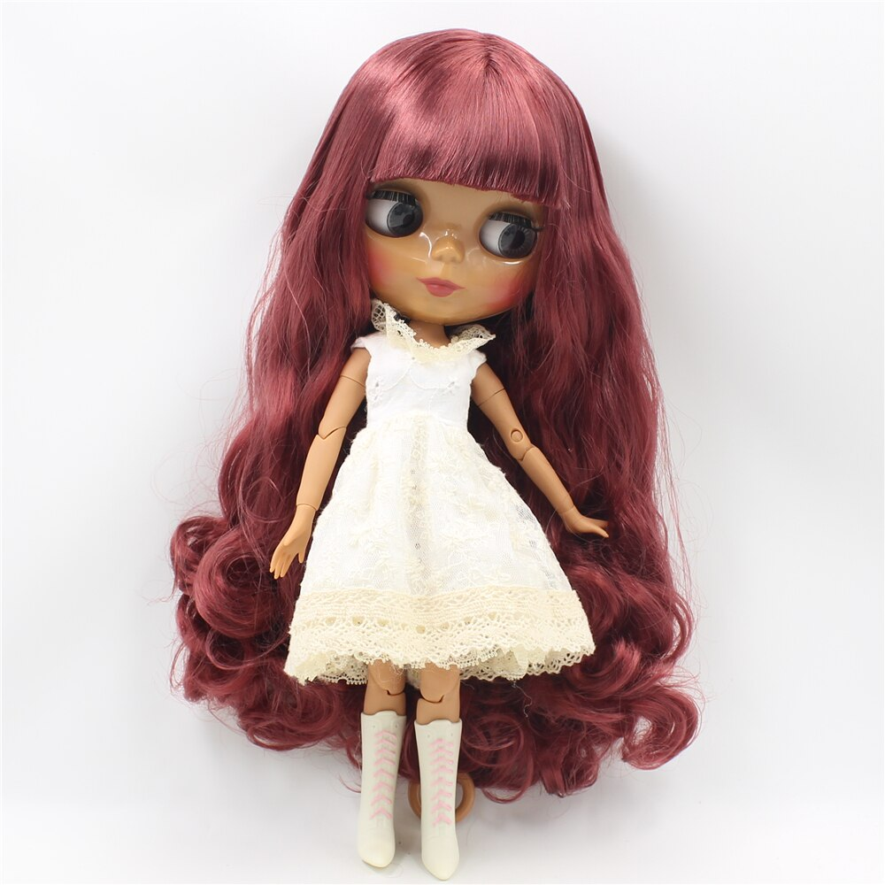 TBL Neo Blythe Doll Pink Hair Jointed Body   Pink hair