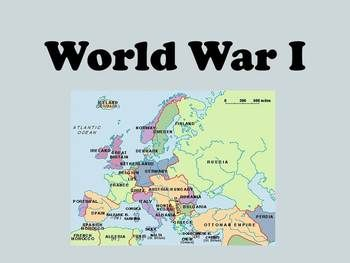 World war 1 unit with interactive notes social studies students world war 1 unit with interactive notes gumiabroncs Images
