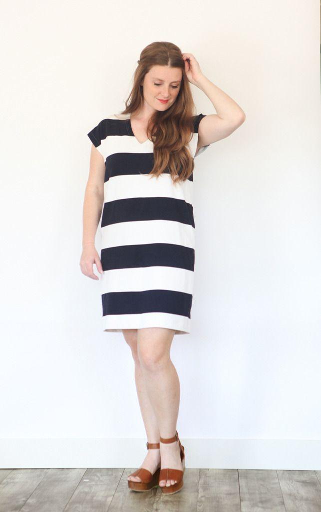 True Bias Urban Sewing And Patternmaking Lodo Dress Pattern For