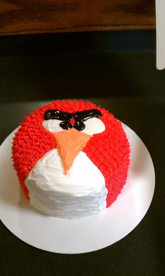 Angry birds smash cake | Cakes I've done | Cake smash ...