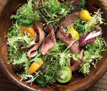 Summer Steak Salad Recipe | from James Patterson's Kitchen Simple cookbook |House & Home