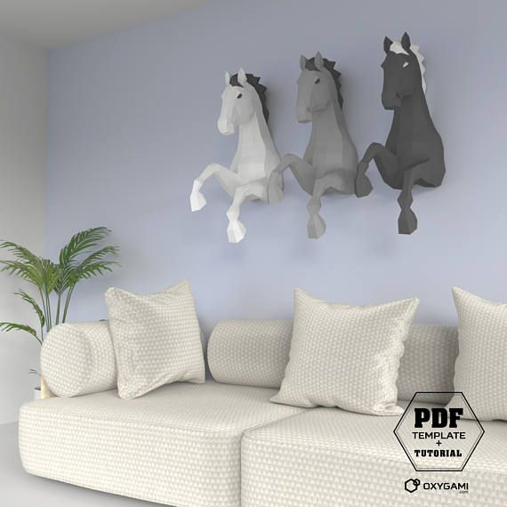 diy horse papercraft 3d papercraft pdf make your own horse papercrafting horse diy low poly. Black Bedroom Furniture Sets. Home Design Ideas
