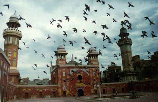مسجد وزير خان لاهور باكستان