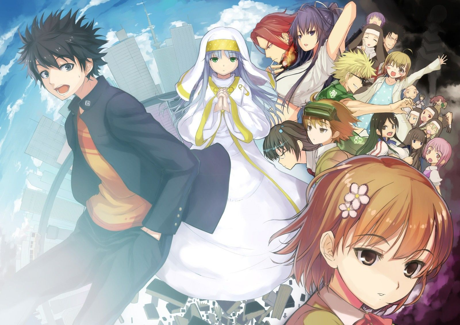 To Aru Majutsu No Index Follow Me For More Great Images A Certain Magical Index Anime Magical