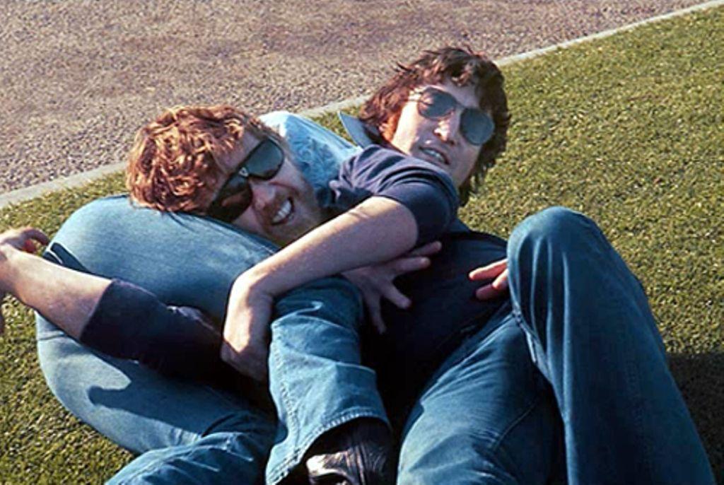 John Lennon & Harry Nilsson 1973 found Nilsson back in