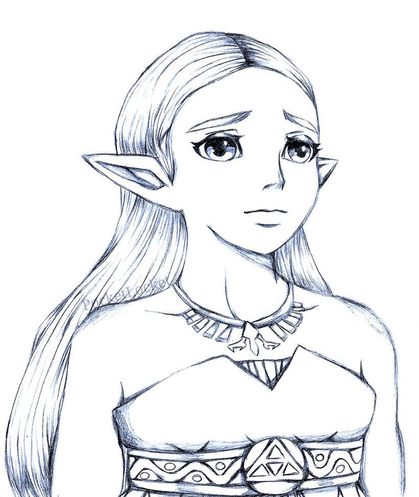 Botw Zelda Doodle By Pocketlocketx Botw Zelda Zelda Hyrule Warriors Zelda Anime