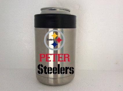 Pittsburgh Steelers Yeti Rambler Colster By