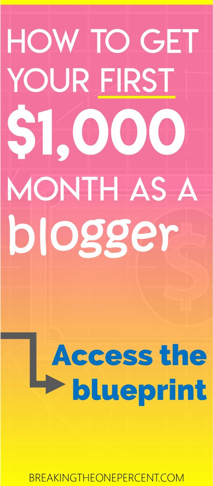Make 1000 from your blog with this 6000 word blueprint make make 1000 from your blog with this 6000 word blueprint make money online work malvernweather Images