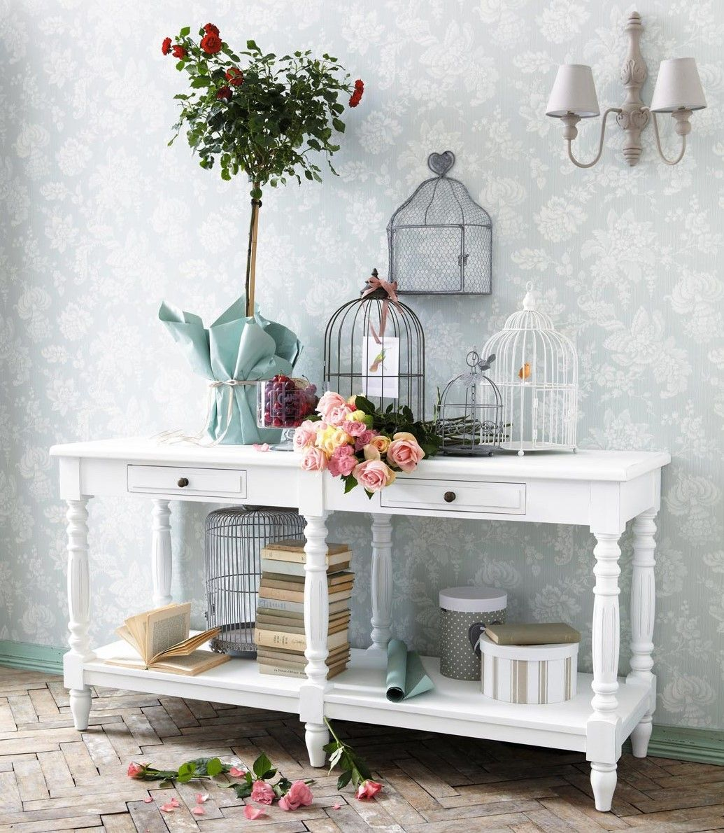 La versatile Consolle | Shabby, Grey houses and Consoles