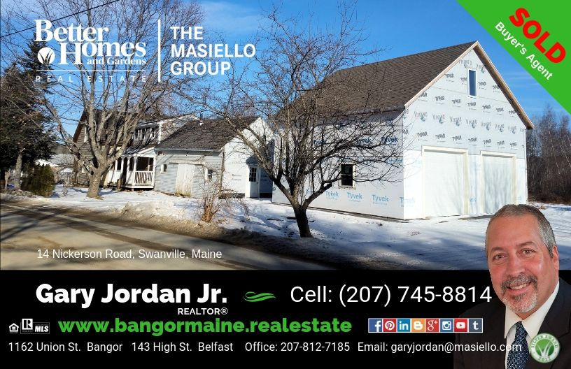 This Home Was Sold On January 16th 2019 In Swanville Maine Need