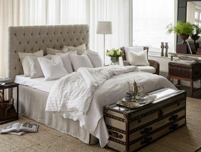 Les meilleures variantes de lit capitonné dans 43 images! Lit