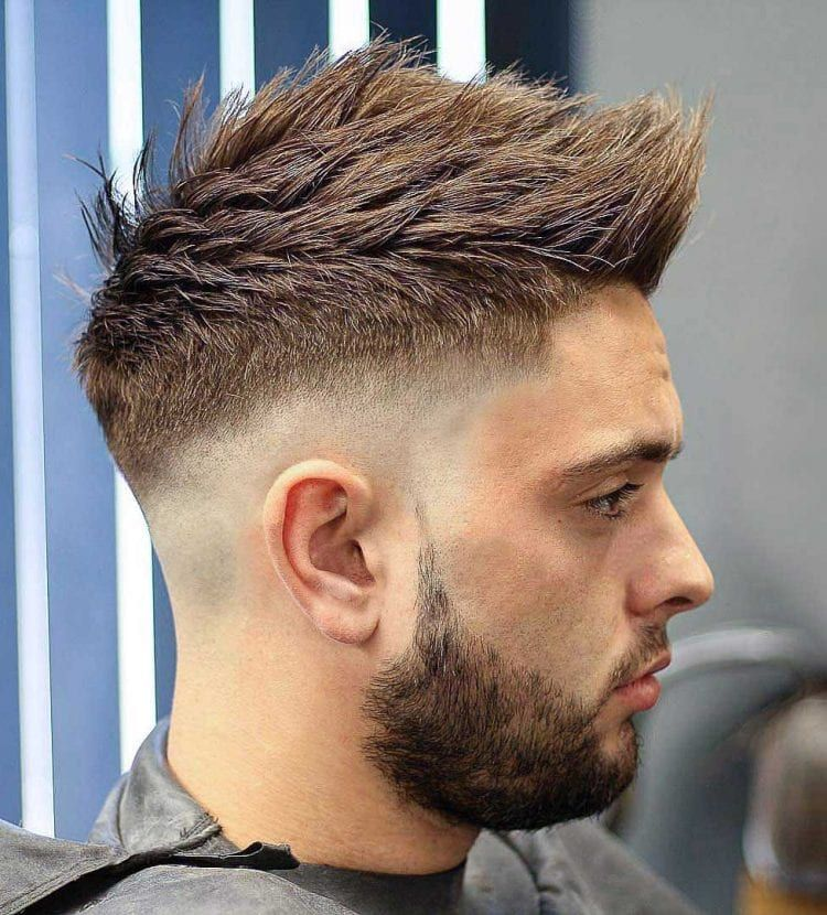 Faux Hawk Hairstyle Keep It Even More Exciting Mens Haircuts Short Fohawk Haircut Low Fade Haircut