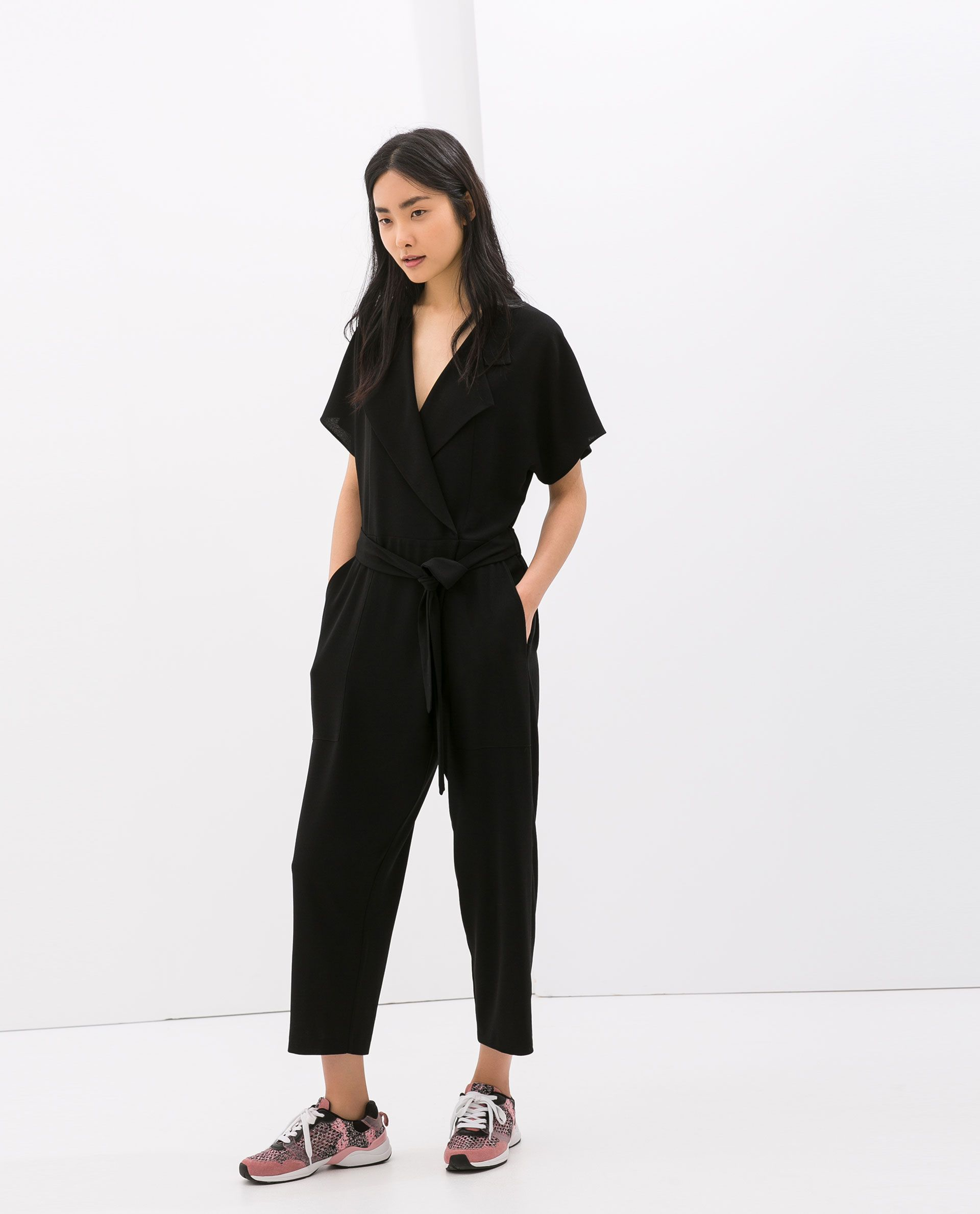 CROSSOVER JUMPSUIT from Zara
