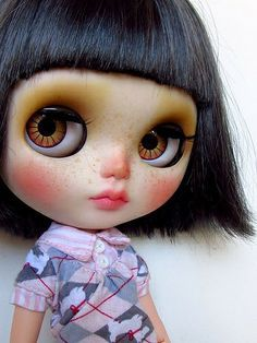 Blythe, she is so cute!