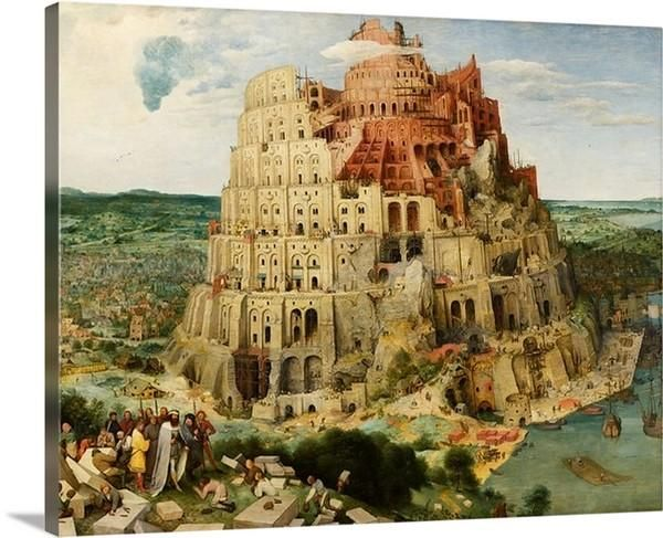 The Tower of Babel (Vienna) (1563) by Pieter Bruegel the Elder is a unique classic wall art for your home decor. This artwork is constructed on premium poly cotton canvas and put on wood frame to be Hong on your wall once delivered. We offer multiple sizes for you to choice from.