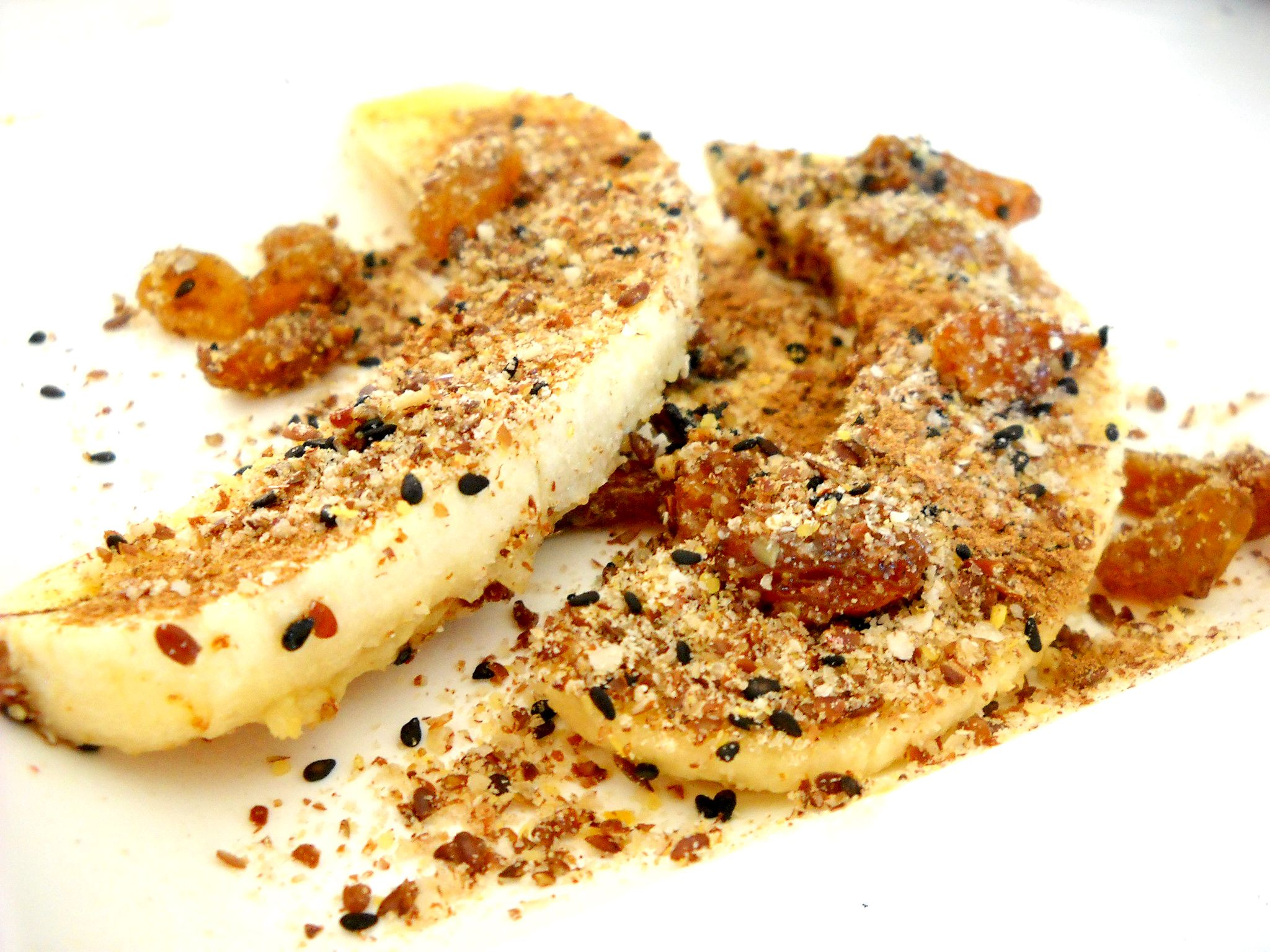 Banana and cinnamon