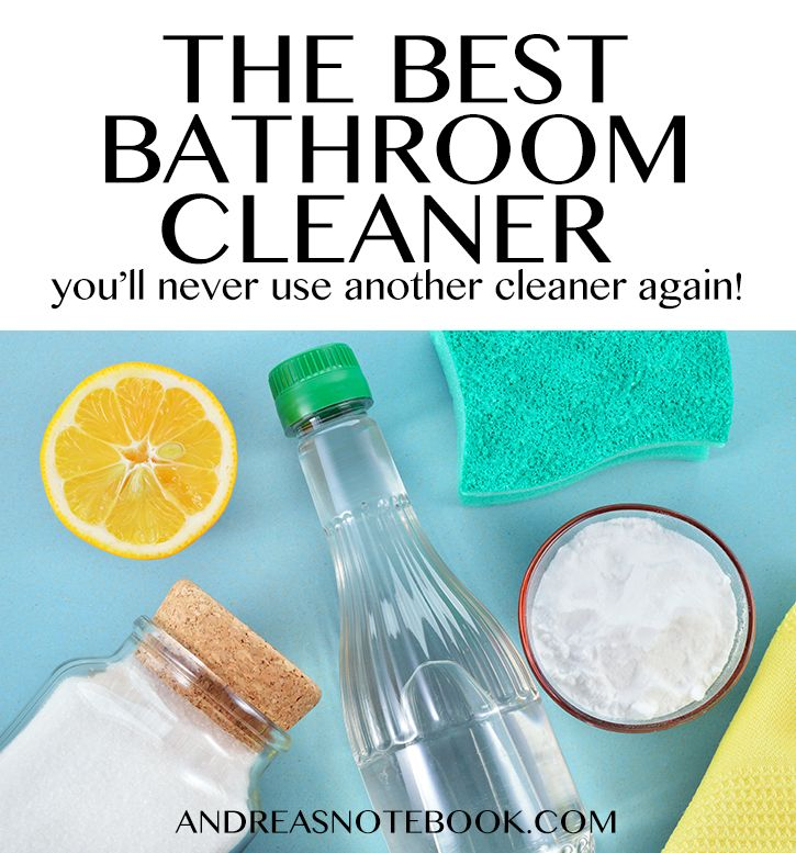 The Only Bathroom Cleaner You'll Ever Use Again | Bathroom ...