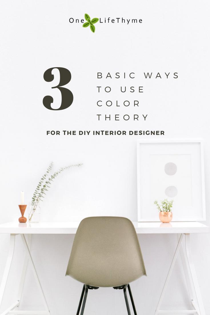 Basics Of Color Theory In Interior Design Interior Design Room