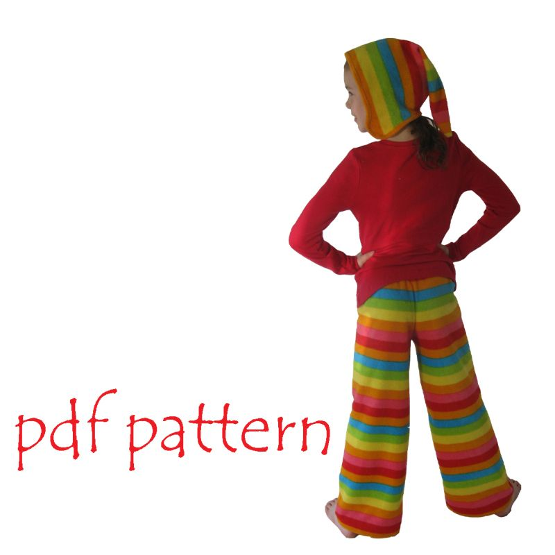 Allie Pants And Pixie Hat Sewing Patterns Pinterest Sewing