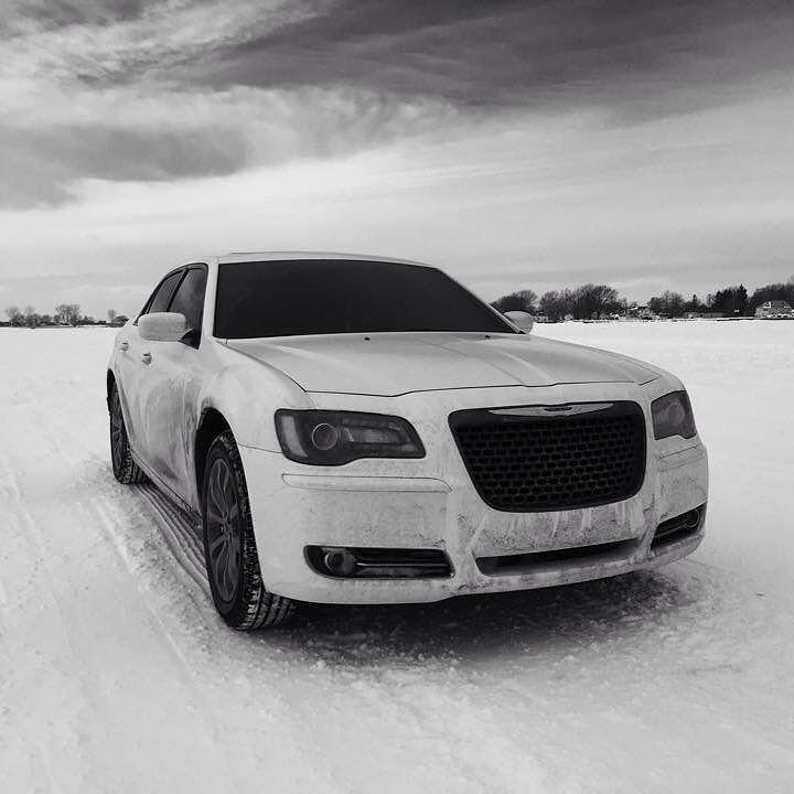: Nic C. #snowday #snow #winter #Chrysler #Chrysler300