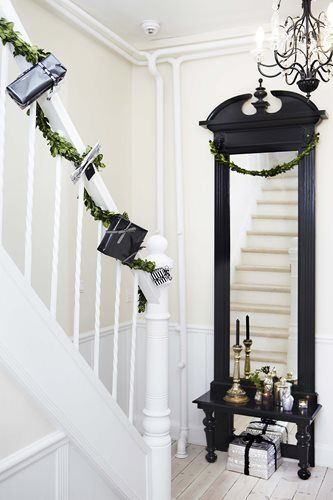 Mirror At Top Bottom Of Stairs For The Home In 2019