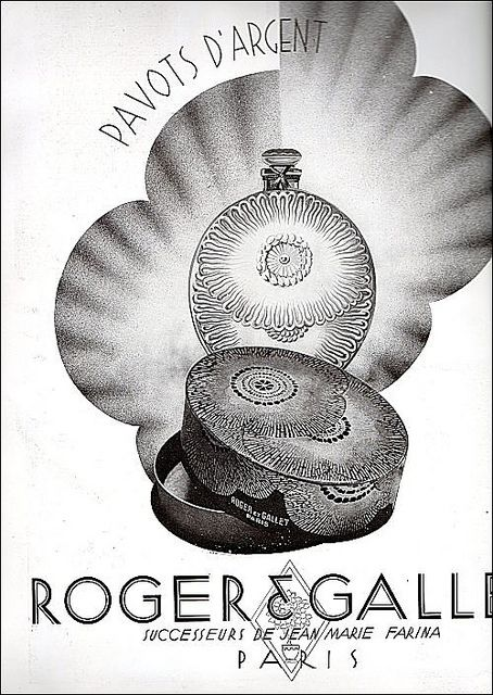 "the 1930s-ad for Roger Gallet ""pavot d'argent"" perfume in 2020 ..."