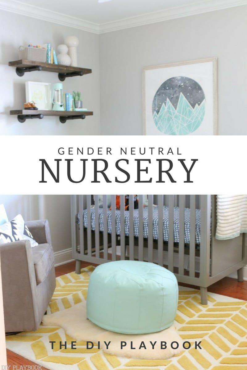 Gender Neutral Nursery Reveal images