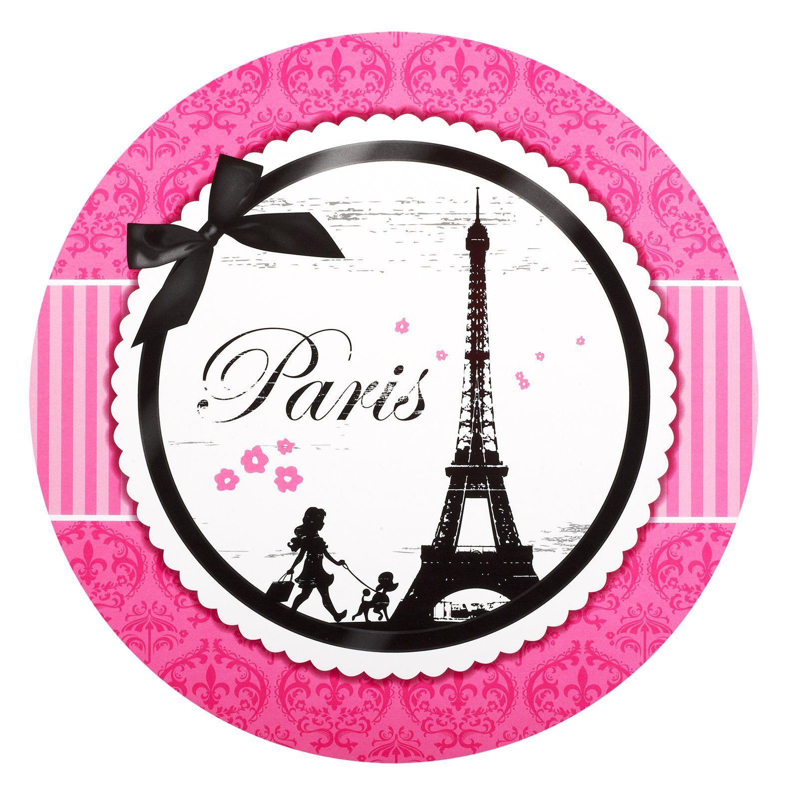 paris damask round activity placemats 86299 paris theme party parisian party paris poodle. Black Bedroom Furniture Sets. Home Design Ideas