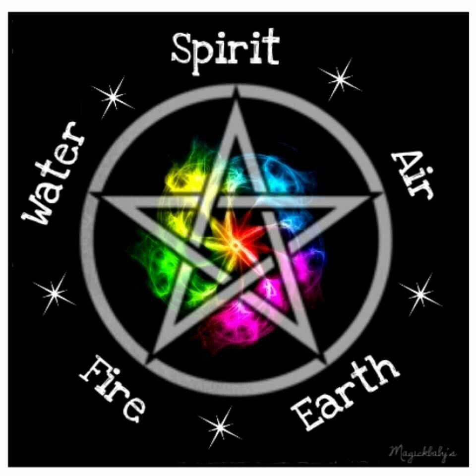 Pagan wiccan elemental pentagram magickal elements pinterest wiccan elemental pentagram biocorpaavc Images