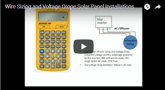 Wire sizing and voltage drop solar panel installations green wire sizing and voltage drop solar panel installations green living pinterest solar energy and solar keyboard keysfo Images